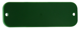 HID SlimFlex RFID tag UHF Higgs 3 Green with Hole