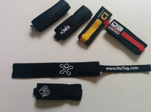Deluxe Neoprene Timing Tag Strap for HuTag XC-2 UHF RFID Tag