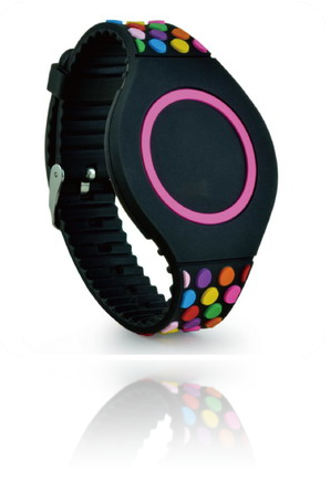 Adjustable Colourfull Wristband ZB001 with NTAG213 chip