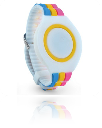 Adjustable Colourfull Wristband ZB002 with Mifare 1k NXP chip
