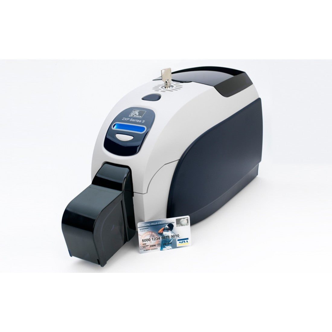 Zebra ZXP Series 3, dubbelzijdig, USB & Ethernet, Magnetic Stripe Writer