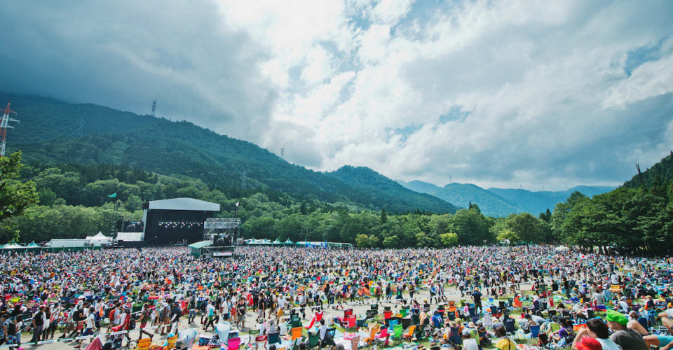 fuji rock music festival top five world