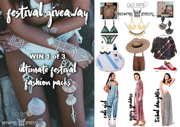 WIN Ultimate Festival Coachella Fashion Spell Designs