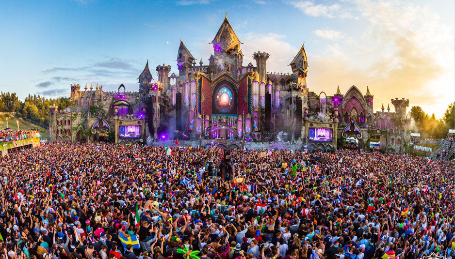 tomorrowland top music festivals