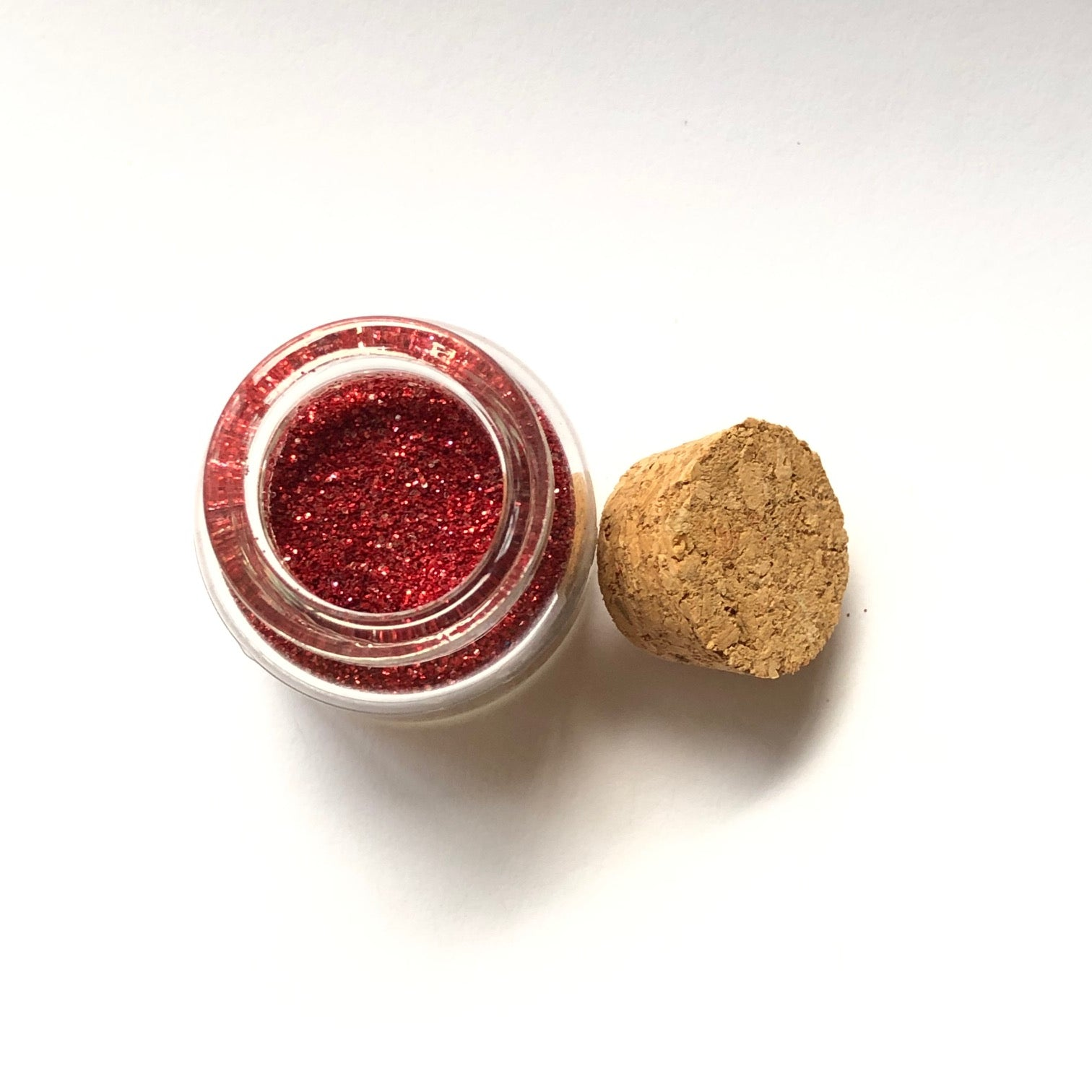 Limited Edition 'Be My Valentine' Ruby Red Biodegradable Glitter
