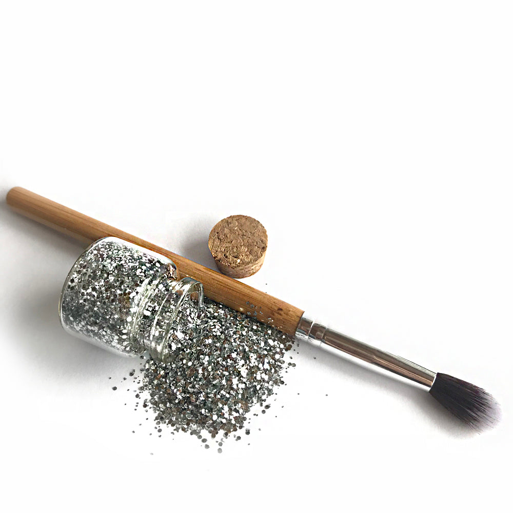 BIO GLO - Biodegradable Glitter - Silver Strike