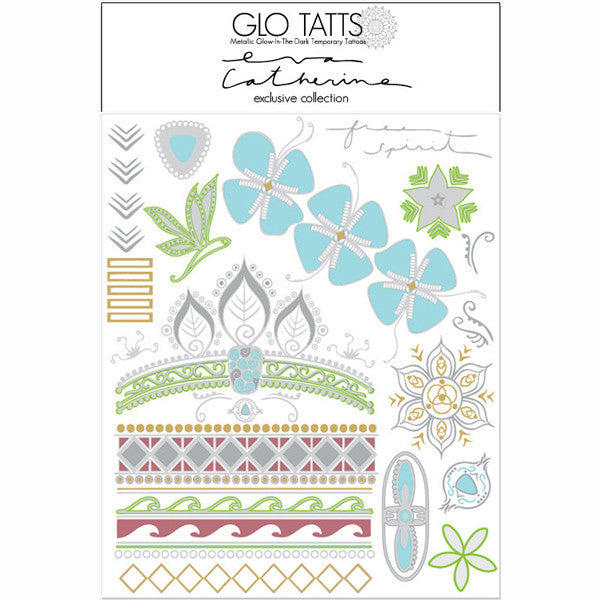 Limited Edition Eva Catherine X GLO TATTS® Temporary Tattoos - GLO TATTS  - 6