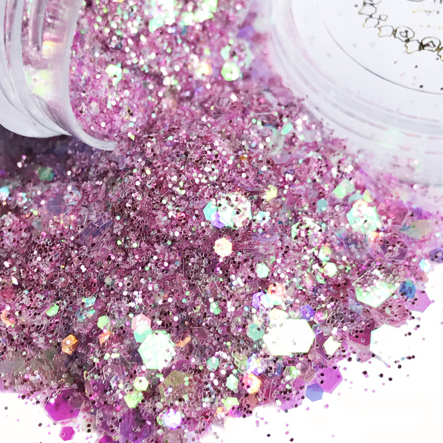 Glow in the Dark Glitter - Fairy Floss