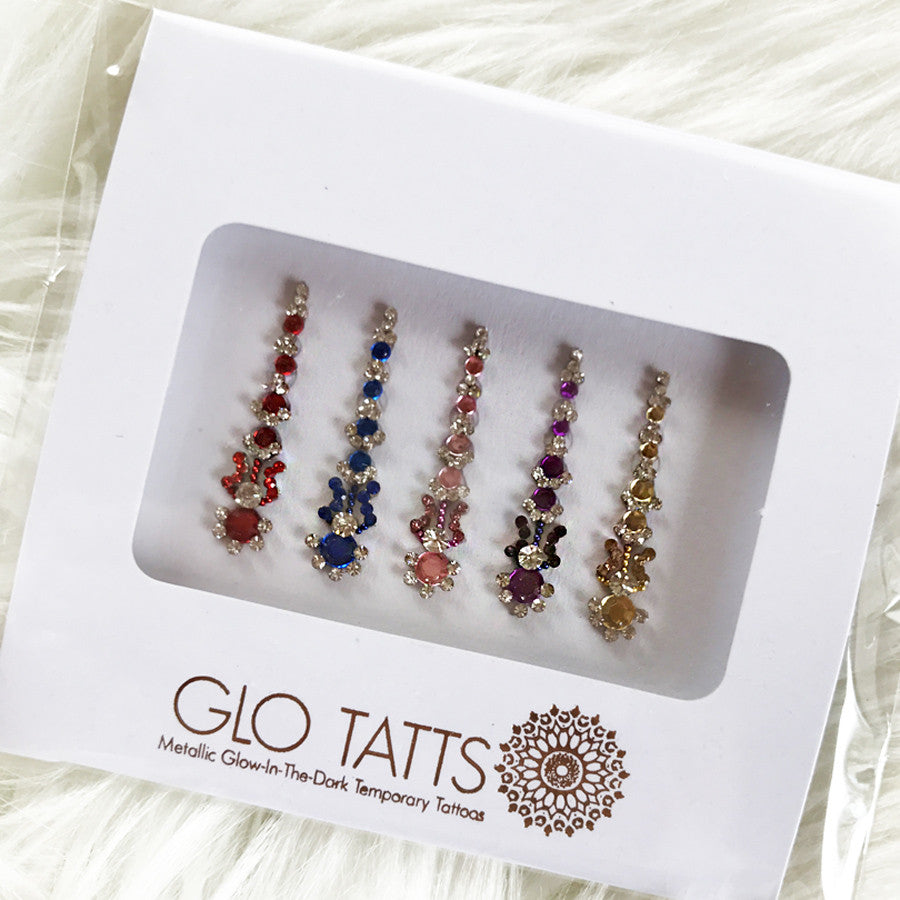 GLO Bindi - Prem प्रेम Crystal - GLO TATTS  - 1