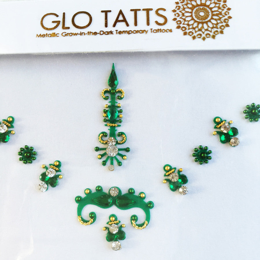 GLO Bindi Harita Forehead Adornment - GLO TATTS  - 3