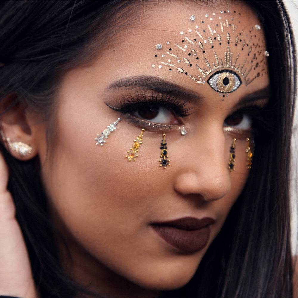 GLO Bindi - Laksmi लक्ष्मी - GLO TATTS  - 7