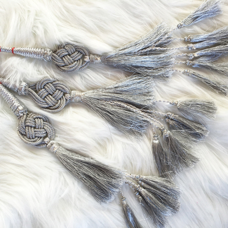 GLO Paranda - Indian Hair Braid Silver - GLO TATTS  - 5