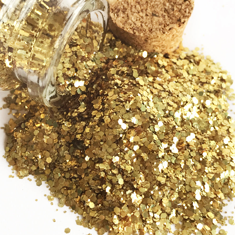 BIO GLO® - Biodegradable Glitter - Gimme GOLD