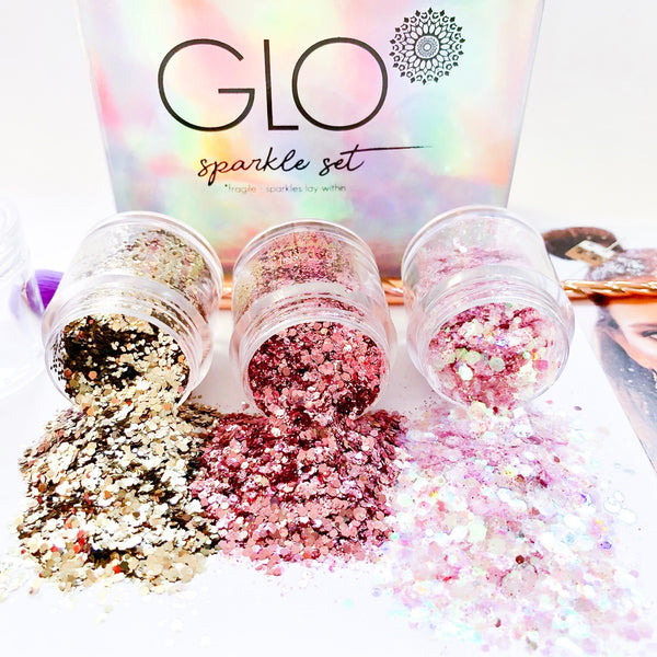 ALL NEW! GLO Sparkle Set Perfect Pink