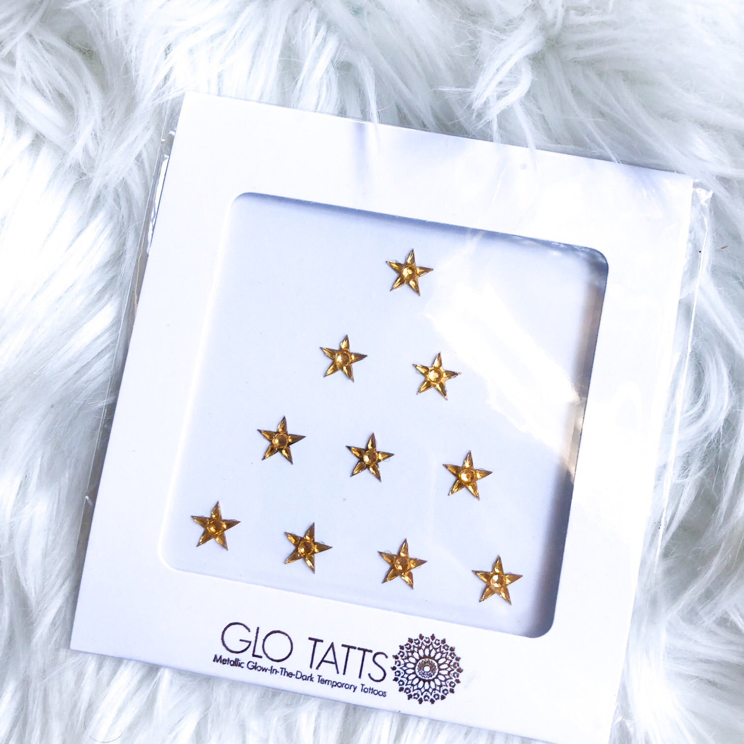 Limited Edition Splendour in the Grass Face Gems - Gold Stars