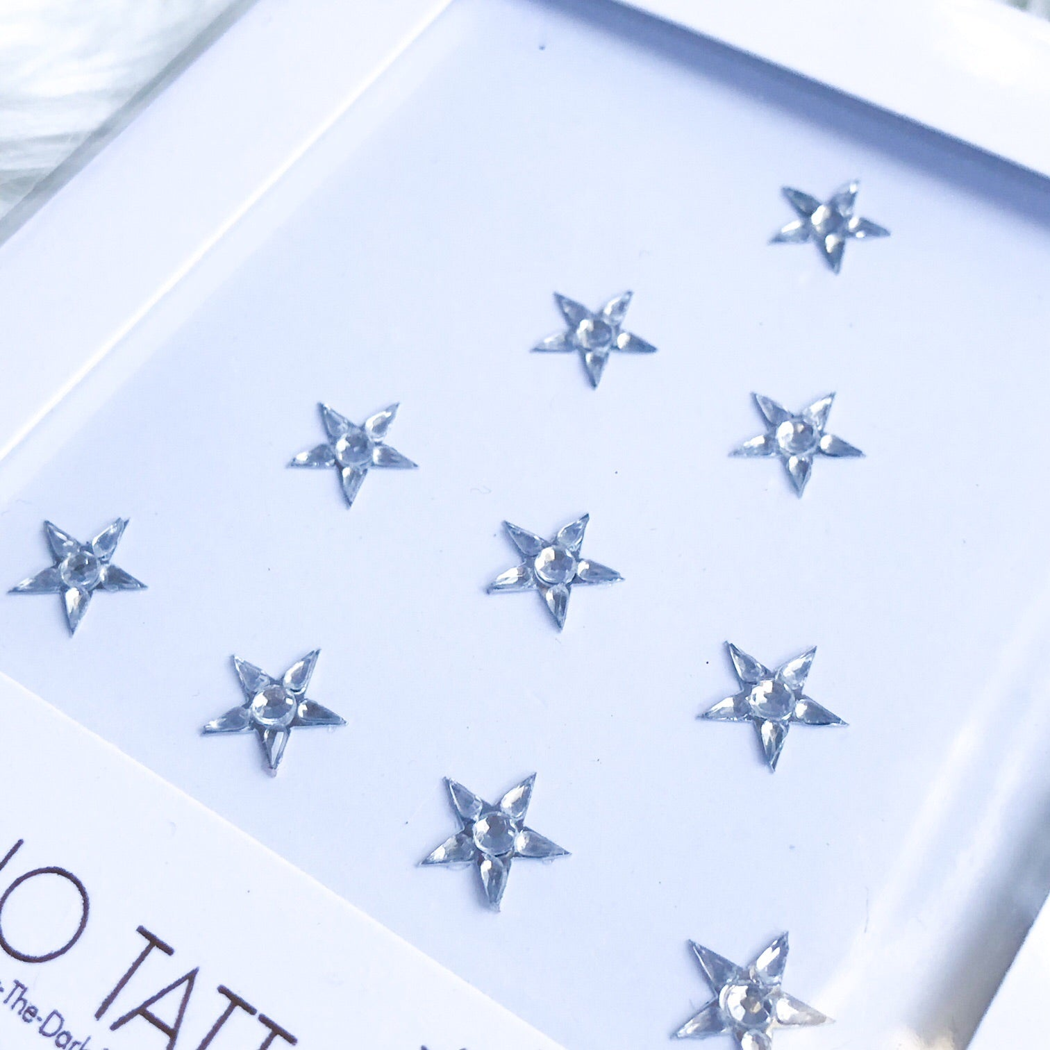 Limited Edition Splendour in the Grass Face Gems - Silver Stars