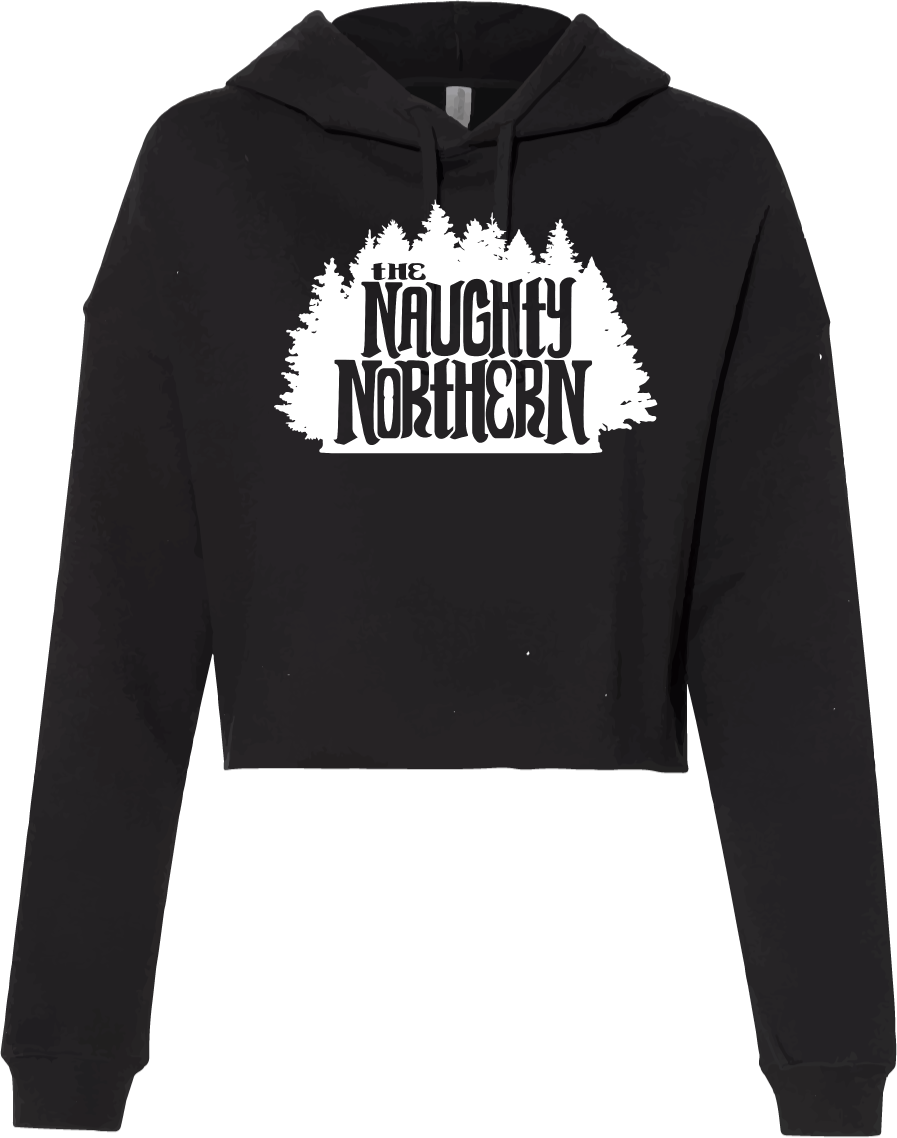 The Naughty Northern - Crop Hoodie