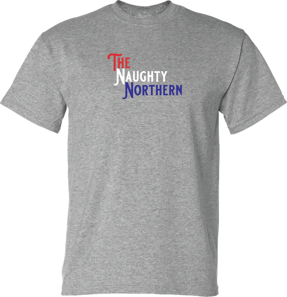 Americana : Red, White & Blue - Naughty Northern T-Shirt