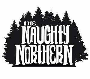 "5pk The Naughty Northern Logo Stickers ""Grab n Smash"""