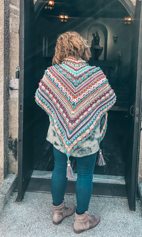 Color Guide: Lost in Time Shawl
