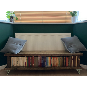 Rustic Reading Bench l TV Unit l