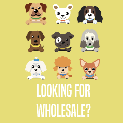 wholesale contact form button with various cartoon dogs