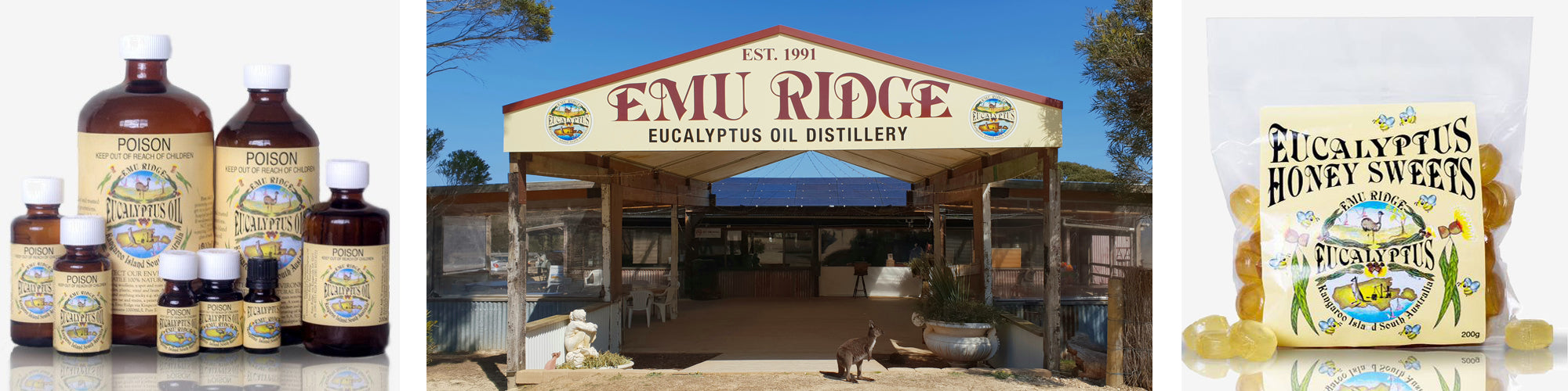 Emu Ridge Eucalyptus Products and Oil Distillery Shop Front