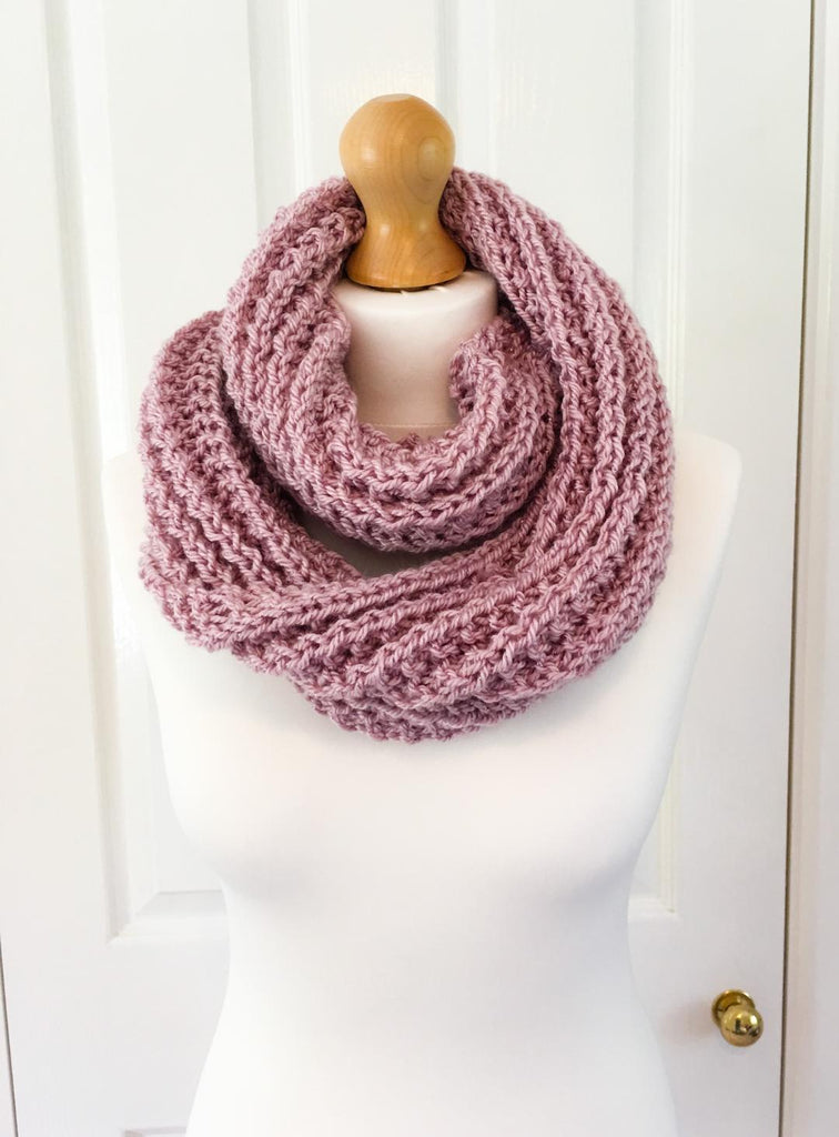 Pink Snood - Pretty in Pink