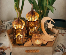 Load image into Gallery viewer, Wooden Eid Ramadan Table Craft