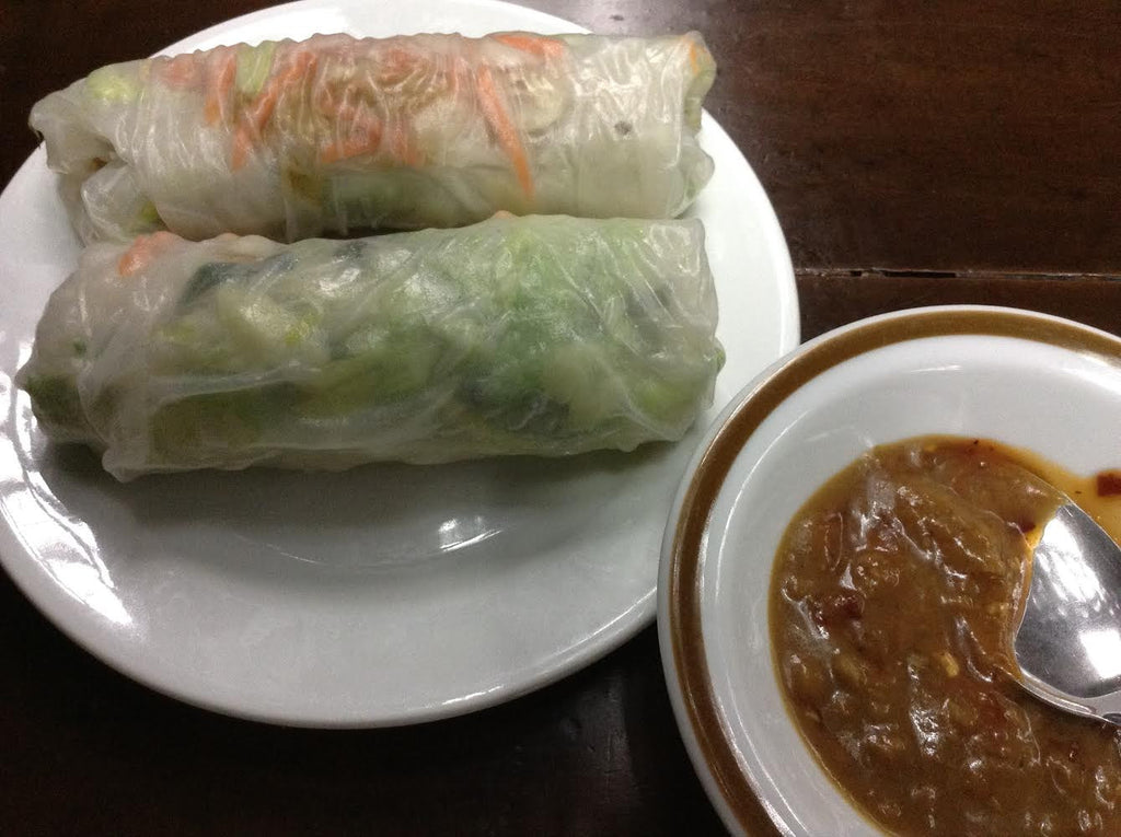 Gỏi Cuốn Chay (Vegetable Rice Paper Rolls)