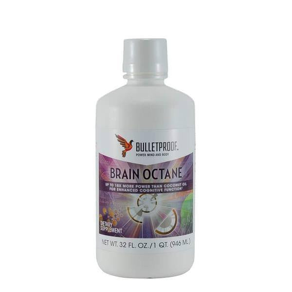 Bulletproof Brain Octane Coconut Oil - Small
