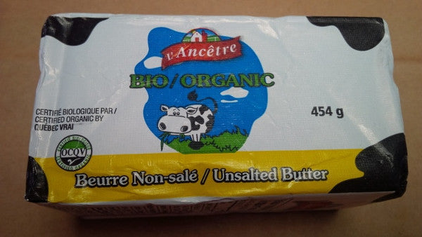 Unsalted Grass-Fed Organic Butter