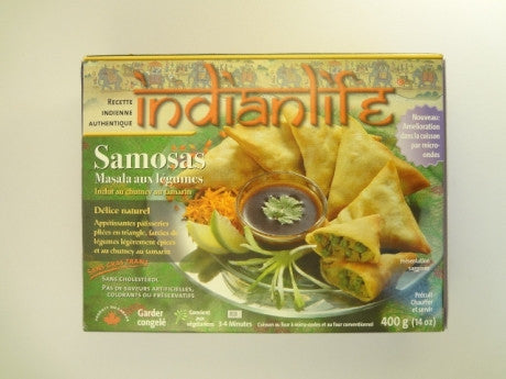 Masala Vegetable Samosas