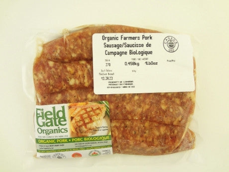 Organic Pork Sausages - Hot