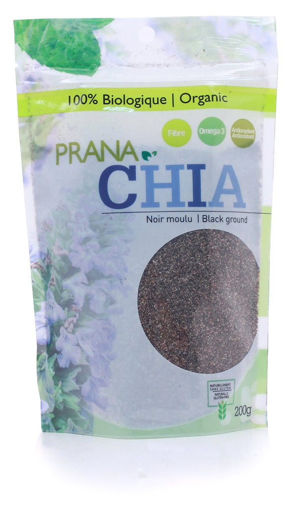 Organic Whole Black Chia Seeds