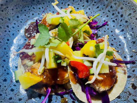 Sweet & Sour Chicken Tacos Recipe