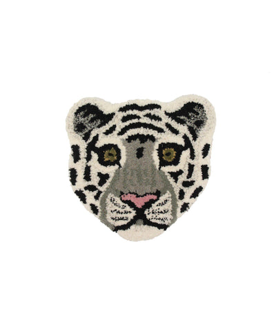 DOING GOODS - Teppich ' Snowy Tiger Head ' - - Das Berlinerzimmer