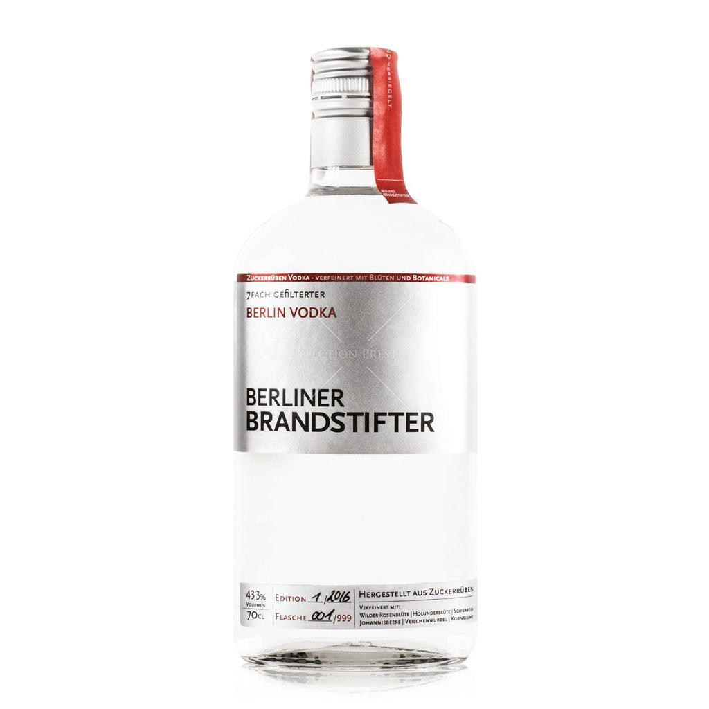 BERLINER BRANDSTIFTER - Berlin Vodka -