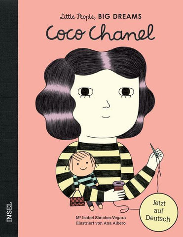 LITTLE PEOPLE BIG DREAMS - Coco Chanel -