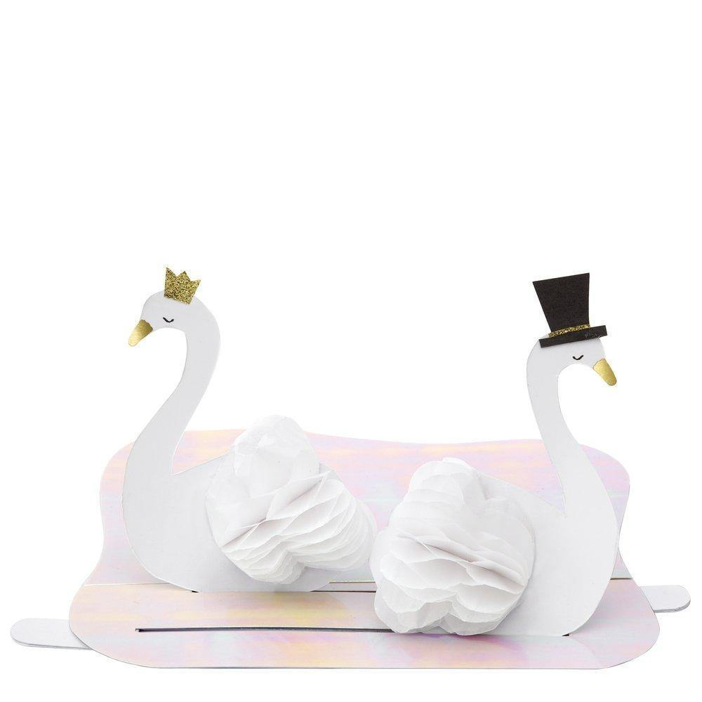 MERI MERI - Swan Wedding Interactive Card -