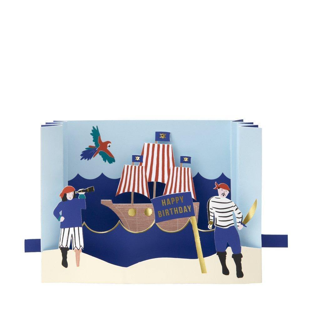 MERI MERI - Pirate Diorama Card -