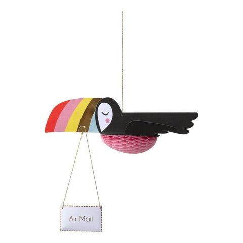 MERI MERI - Flying Toucan Honeycomb Card -
