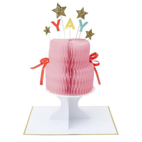 MERI MERI - Yay! Cake Stand-Up Card -