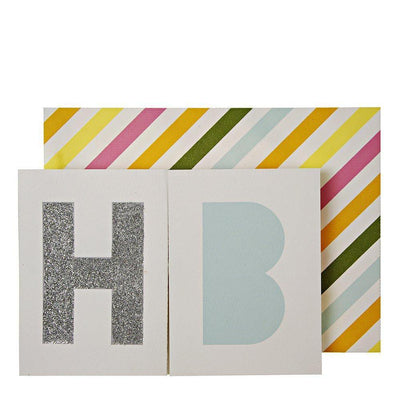 MERI MERI - Birthday Banner Card - - Das Berlinerzimmer