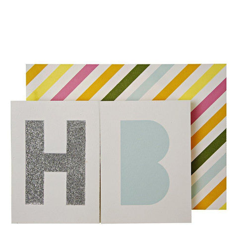 MERI MERI - Birthday Banner Card -