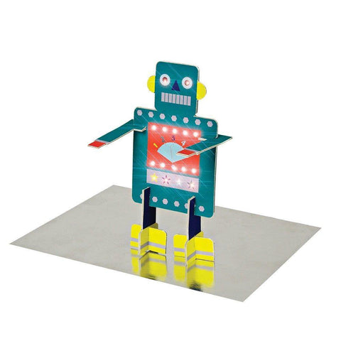 MERI MERI - Robot Stand-up Card -