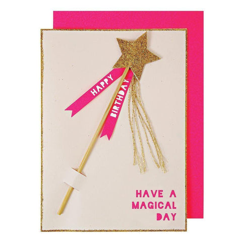 MERI MERI - Magic Wand Birthday Card -