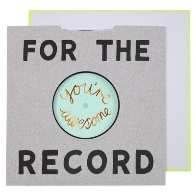 MERI MERI - For The Record Card - - Das Berlinerzimmer