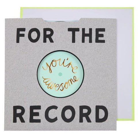 MERI MERI - For The Record Card -