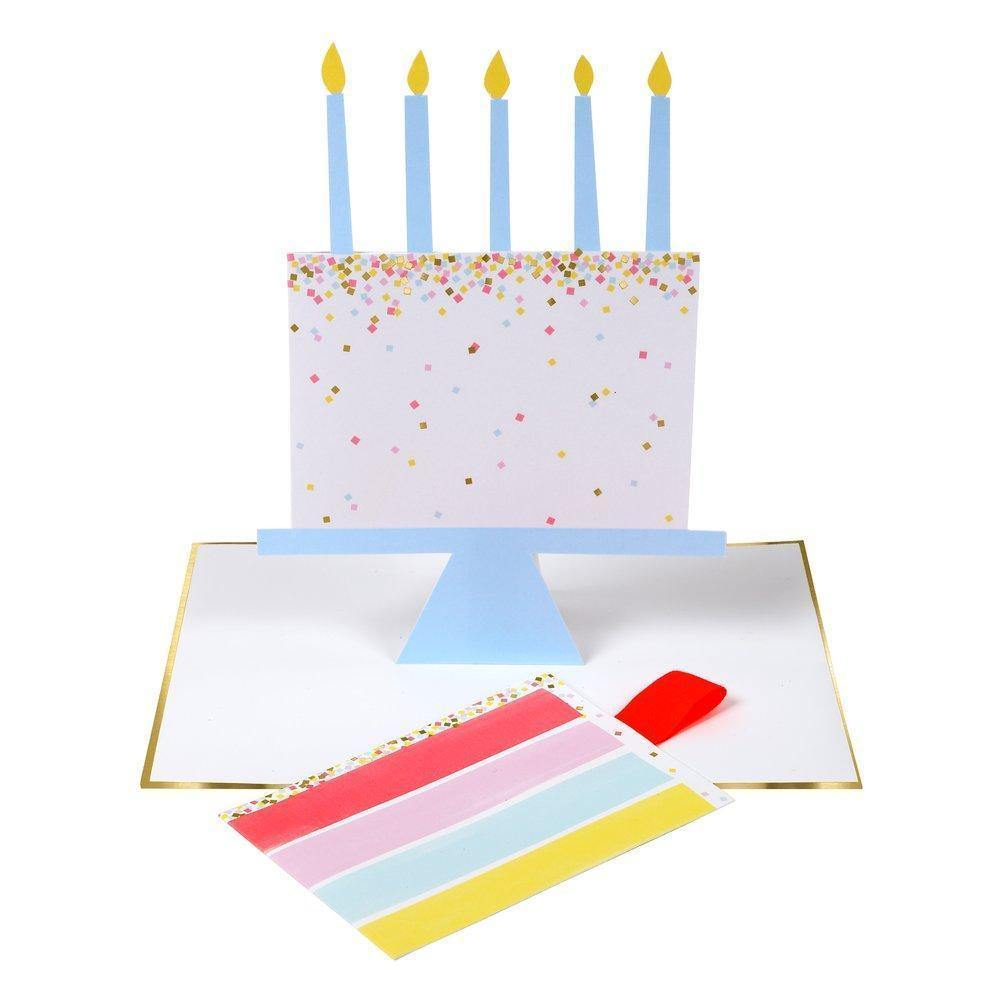 MERI MERI - Cake Slice Stand-up Card -